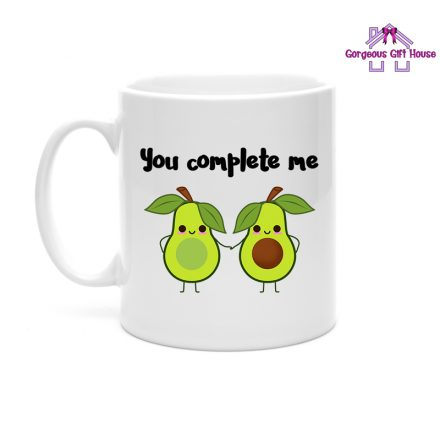 You Complete Me Avocado Mug