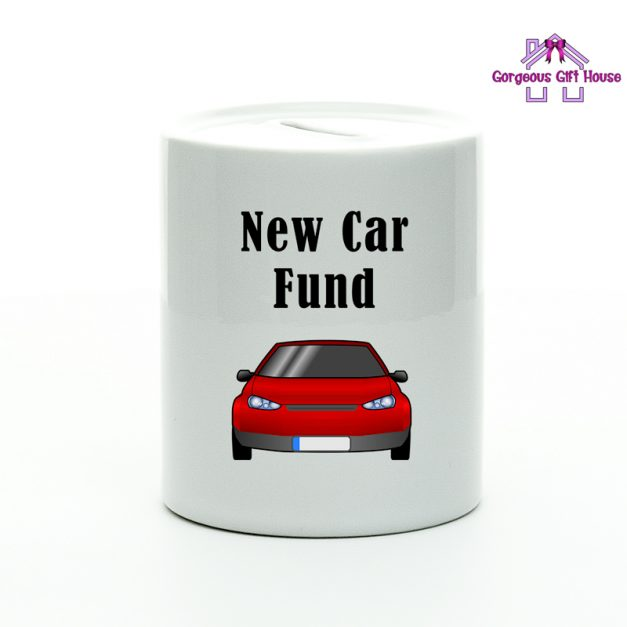 New Car Fund Money Box