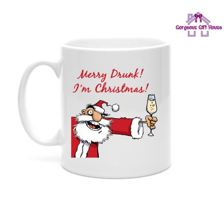 Merry Drunk I'm Christmas Mug