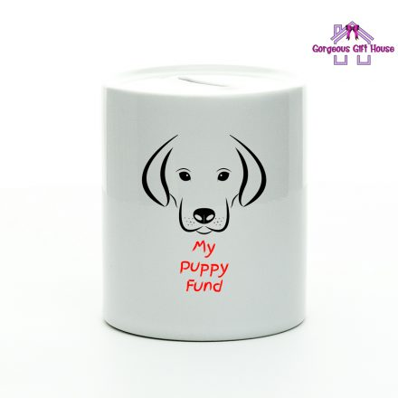 My Puppy Fund Money Box