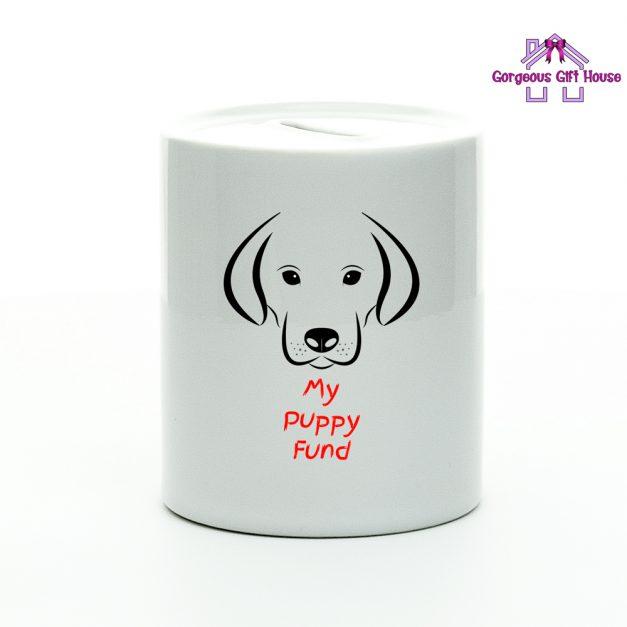 My Puppy Fund Money Box