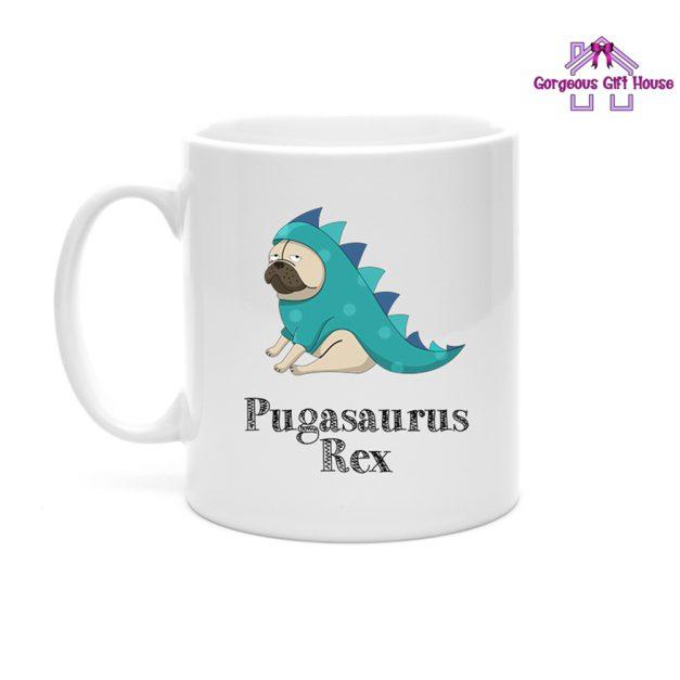 Pug Mug - Pugasaurus Rex Mug Gift