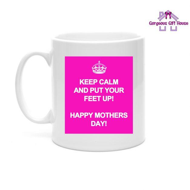 Keep Calm and Put Your Feet Up Mug