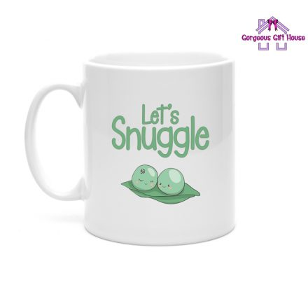 let's snuggle mug - gifts for couples