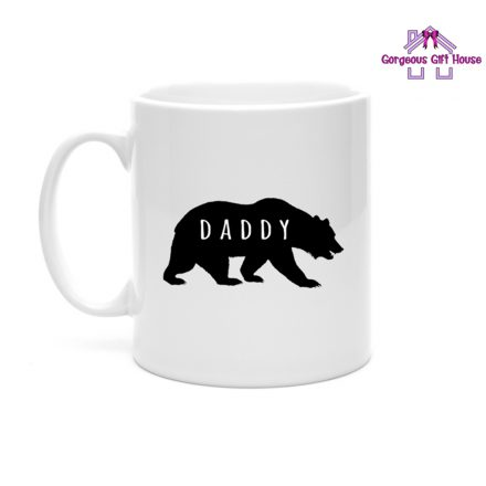 Daddy Bear Silhouette Mug