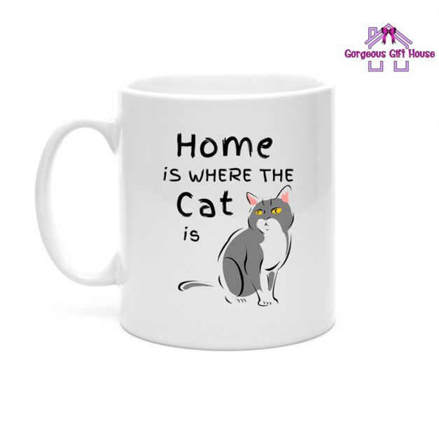 Home is where the Cat is Mug