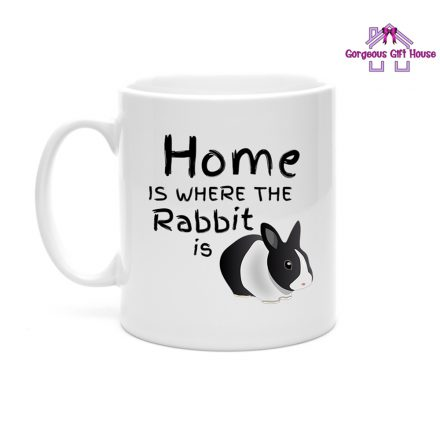 Home is where the Rabbit is Mug