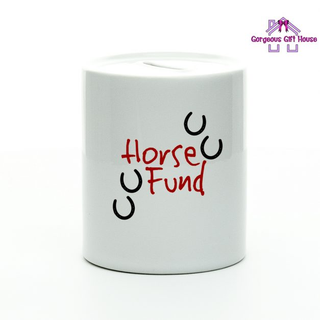Horse Fund Money Box