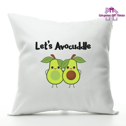 lets avocuddle - cushion gift