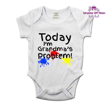 Today I'm Grandma's Problem - Fun Baby Grow