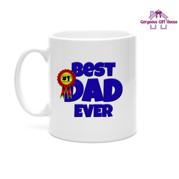 best dad ever mug - gift for dad