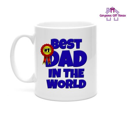 best dad in the world mug - gift for dad