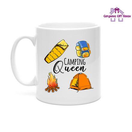 Camping Queen Mug