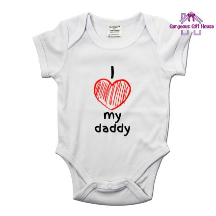 I Love My Daddy Babygrow