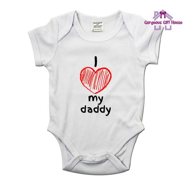 I Love My Daddy Babygrow