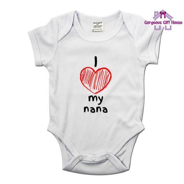 I Love My Nana Babygrow