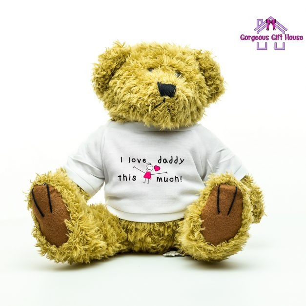 I Love Daddy This Much Girl Teddy