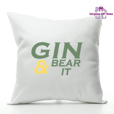Gin & Bear It Cushion