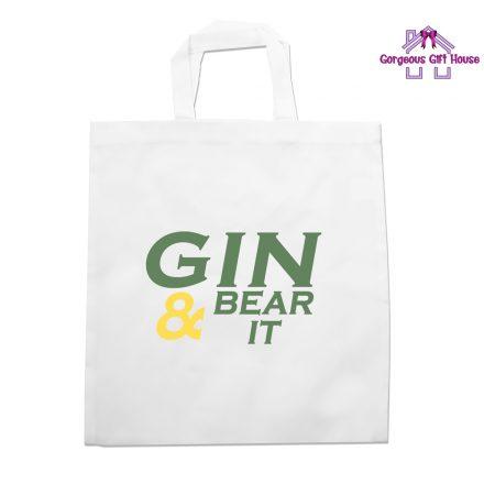 Gin & Bear It Tote Bag
