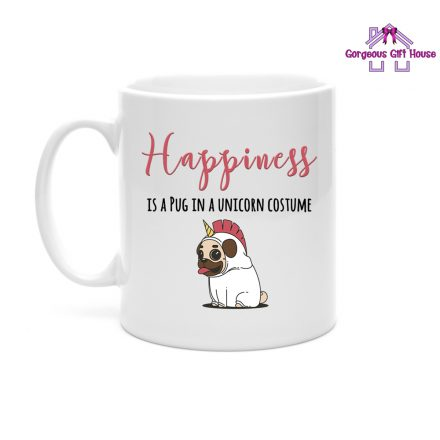 Pug In A Unicorn Costume Mug