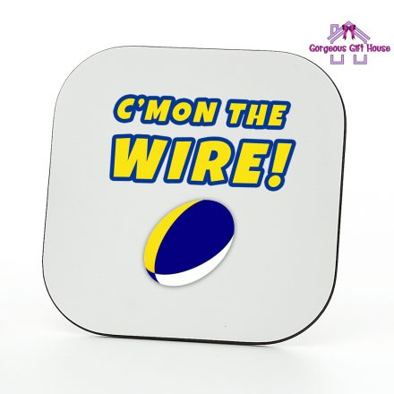 c'mon the wire coaster - rugby fan gift