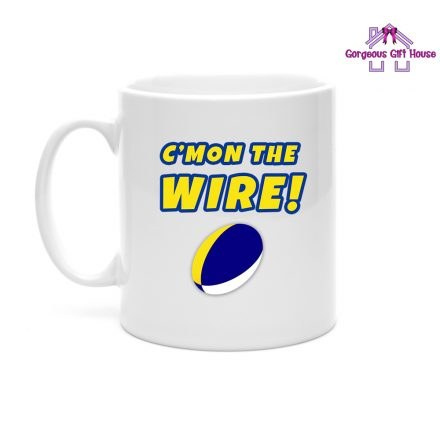 C'mon The Wire Mug - Rugby Fan Gift