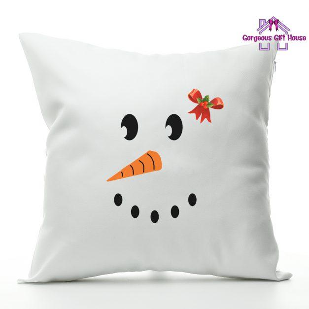 Snow Girl Face Cushion