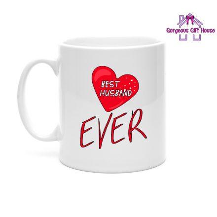 gifts for him - best husband ever mug