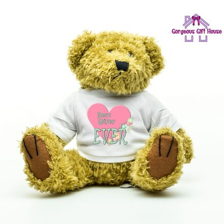 gifts for her - best wifey ever teddy bear
