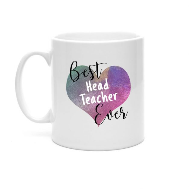 best head teacher ever heart mug