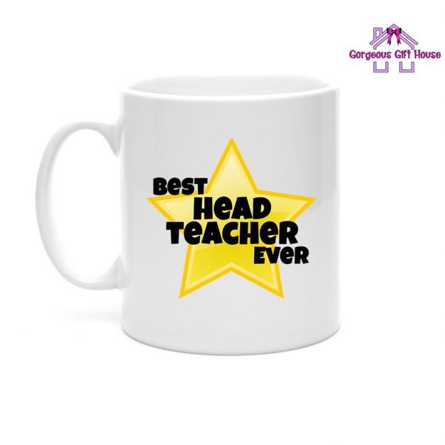 best head teacher ever star mug