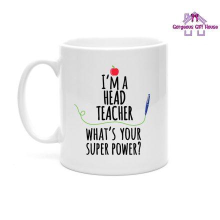 I'm A Head Teacher What's Your Super Power Mug