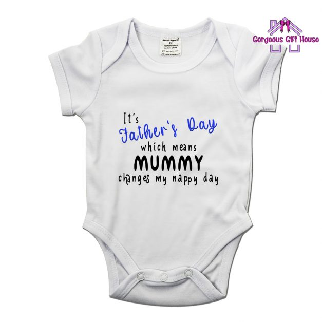Fathers Day Mummy Changes My Nappy Day