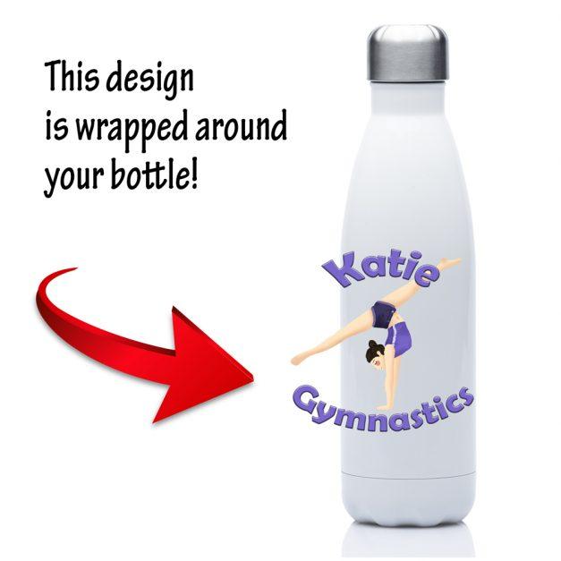 Personalised gymnastics bottle