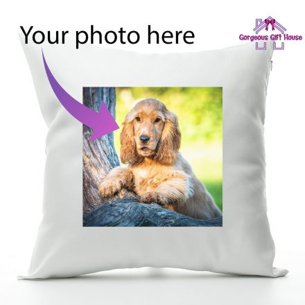 Personalised Photo Cushion Using Your Photo